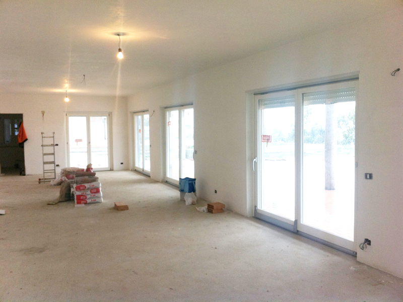Appartamento Bologna Centro - ristrutturazione totale - pittura pareti