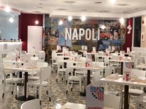 Bologna - Centro Commerciale La Meridiana - ristrutturazione totale - Ristorante pizzeria Rossopomodoro